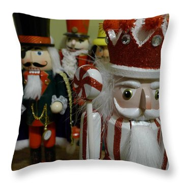 Nutcracker II Throw Pillow by Richard Reeve