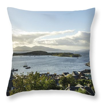 Oban Bay View Throw Pillow