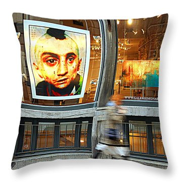 Observed Throw Pillow by Valentino Visentini