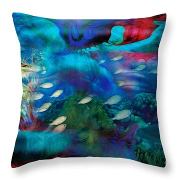 Ocean Dreams Throw Pillow