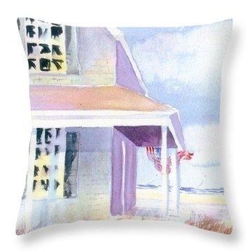 Ocean View Throw Pillow by Joseph Gallant