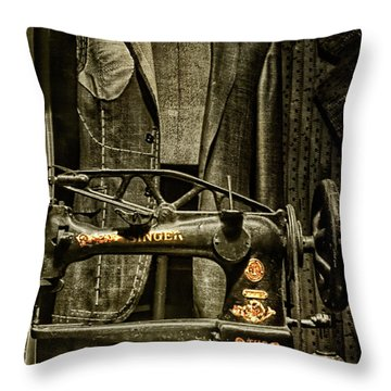 Ode To A Singer Throw Pillow by Chris Lord