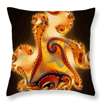 Ode To Picasso I Throw Pillow
