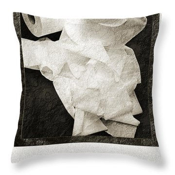 Ode To The Spare Roll Throw Pillow by Andee Design