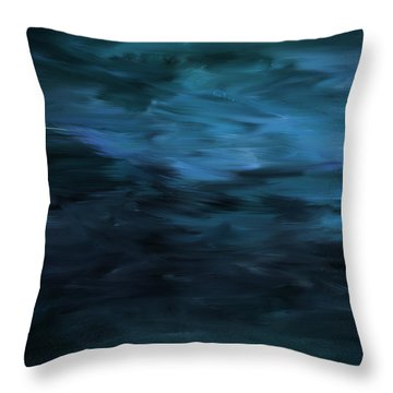 Ode To The Winter Throw Pillow