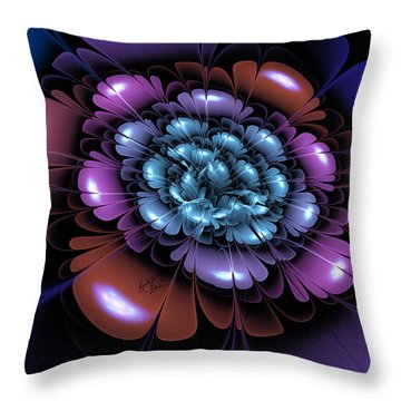 Of Color And Light Throw Pillow