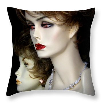 Of Paris Throw Pillow