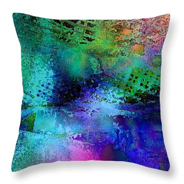 Throw Pillow featuring the photograph Of The End by David Pantuso