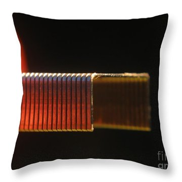 Office Staples Throw Pillow by Yali Shi