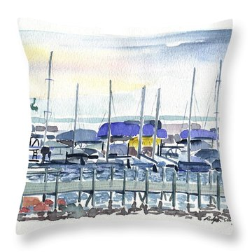 Okoboji Throw Pillow