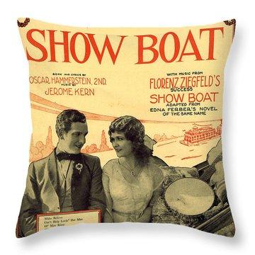 Ol Man River Throw Pillow