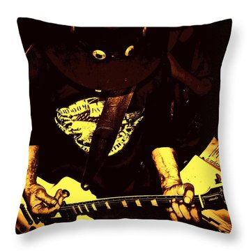 Ol School Throw Pillow by Chris Berry