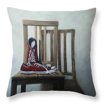 Old All Stars Throw Pillow