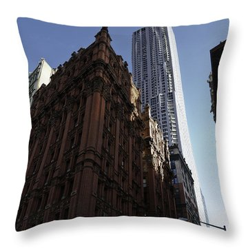 Old And New  Throw Pillow by Paul Plaine