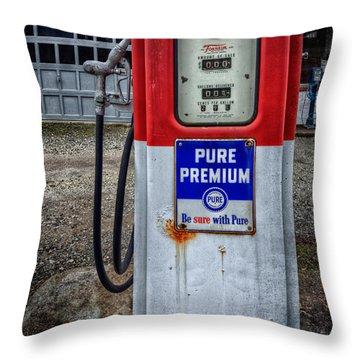 Old And Rustu Pump 2  Throw Pillow