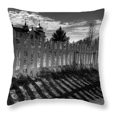 Old Beliefs And Shadows Throw Pillow