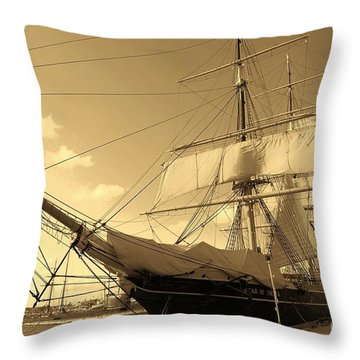 Throw Pillow featuring the photograph Old Boat by Jasna Gopic