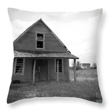 Old Bug Tussle Throw Pillow