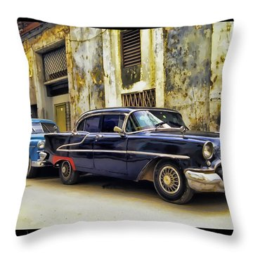 Old Car 1 Throw Pillow by Mauro Celotti
