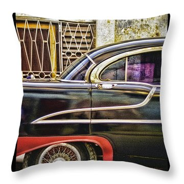 Old Car 2 Throw Pillow by Mauro Celotti