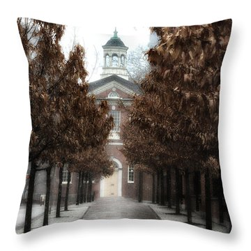 Old City Hall Philadelphia Throw Pillow by Bill Cannon