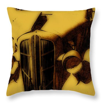 Old Dodge Throw Pillow