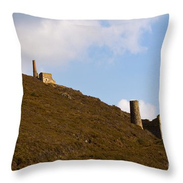 Old Engine House Throw Pillow by Brian Roscorla