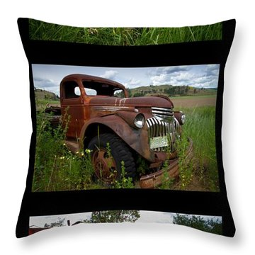 Old Guys 7 Throw Pillow by Idaho Scenic Images Linda Lantzy