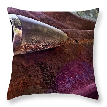 Old Into Gold Throw Pillow by Susan Smith