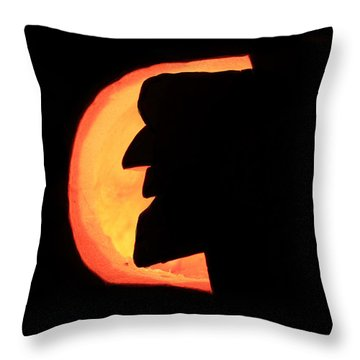 Old Man Of The Mountian Throw Pillow by Lloyd Alexander
