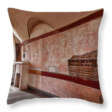 Old Room Throw Pillow by Garry Gay