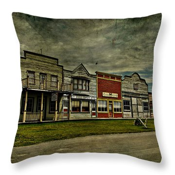 Old Town Witchit  Throw Pillow by Empty Wall