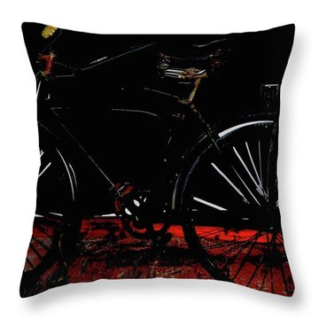 Old Way To Go Throw Pillow by Jerry Cordeiro