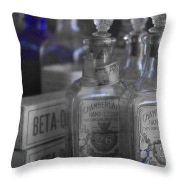 Throw Pillow featuring the photograph Old West 13 by Deniece Platt