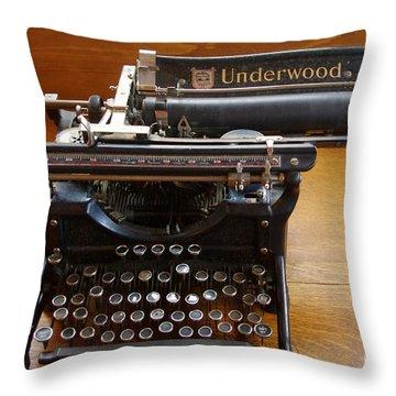 Throw Pillow featuring the photograph Old West 8 by Deniece Platt