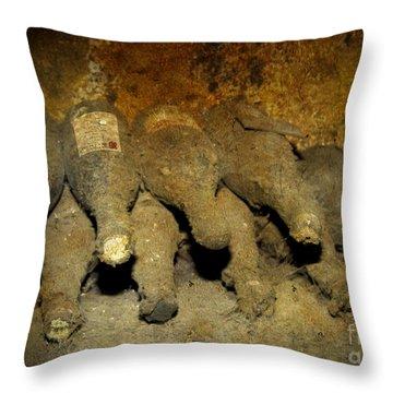 Old Wine Rarities Throw Pillow by Heiko Koehrer-Wagner