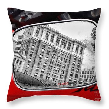 Older Than Appears Throw Pillow by Jim Moore