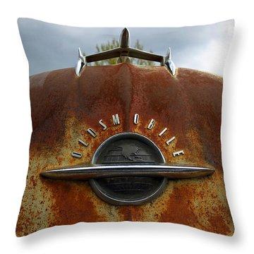 Oldsmobile Throw Pillow by Steve McKinzie