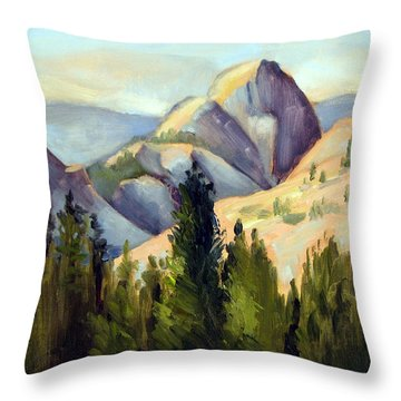 Olmstead Point Throw Pillow by Karin  Leonard