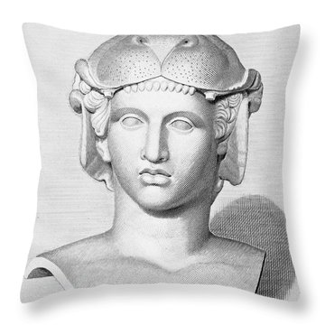 Omphale Throw Pillow by Granger