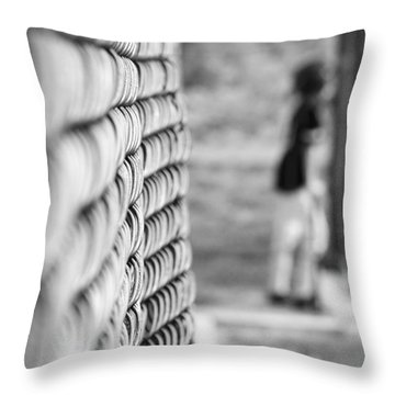 On Deck Throw Pillow