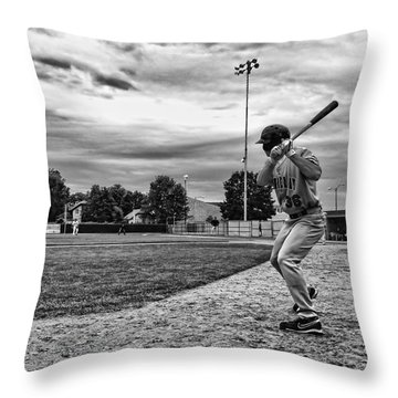 On Deck Throw Pillow by Tom Gort