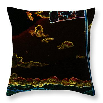 On Guard For Thee Throw Pillow by Travis Crockart
