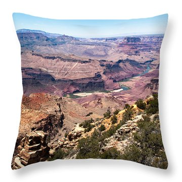 On The Rim Throw Pillow