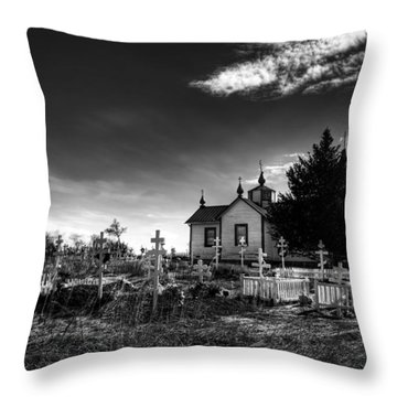 Once Upon A Time Throw Pillow by Michele Cornelius