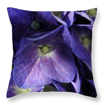 One Of A Crowd Throw Pillow by Wanda Brandon