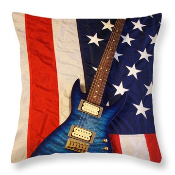 One Of A Kind...  Made In The U. S. A. Throw Pillow