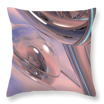 One Throw Pillow by Scott Piers