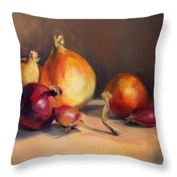 Onions Etc. Throw Pillow