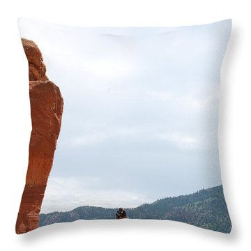 Only A Photographer Would Do.. Throw Pillow